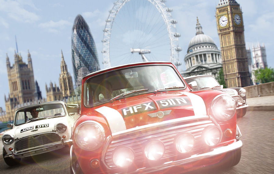 Mini Cooper Sightseeing Tour of London