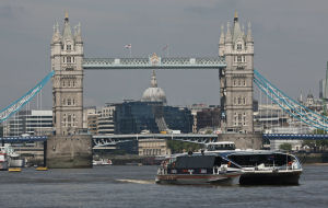 Thames Clippers Cruise