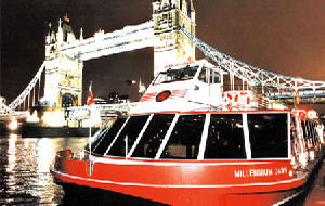 London Showboat Dinner Cruises