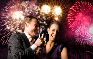 New Year's Eve Dinner at Cafe Rouge St Katharine Dock & Aurora Thames Clippers Sightseeing Cruise