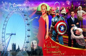Madame Tussauds, London Eye