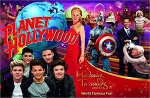 Madame Tussauds & Lunch at Planet Hollywood