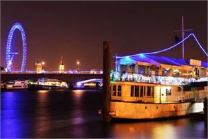 New Year's Eve Celebration onboard The Yacht London
