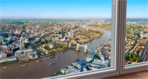 The View from The Shard and Afternoon Tea at Browns