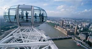 London Eye & Red Rover Sightseeing Cruise