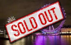 New Year's Eve River Thames Buffet Cruise on The Queen Elizabeth - SOLD OUT
