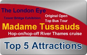 London Silver Bundle - Top 5 Attractions - 1 Great Price