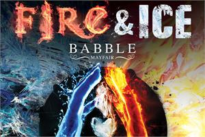 Babble Mayfair Bar, New Year's Eve Fire & Ice Party, Ticket Only, London W1J