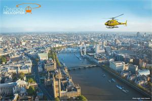 London Buzz Helicopter Trip and Afternoon Tea