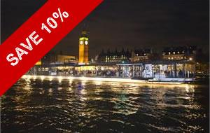 SAVE 10% - Bateaux London River Thames Symphony Dinner Cruise