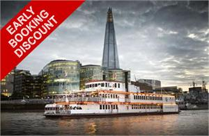The Dixie Queen, New Year's Eve River Thames Boat Party