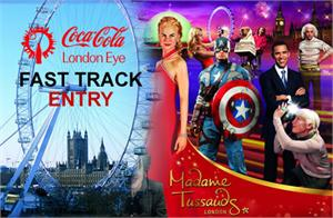 Madame Tussauds, Fast Track Coca Cola London Eye & Tower Bridge