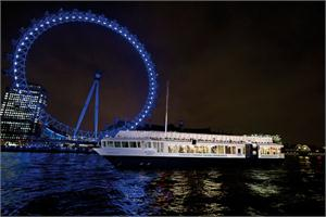 EDF Energy London Eye & Bateaux London Harmony Dinner Cruise
