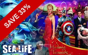 Sea Life London Aquarium Tickets